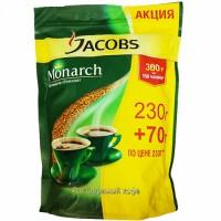 ყავა ხსნადი იაკობს მონარქი 230გრ + 70გრ