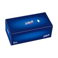 სელპაკ ხელსახოცი მუყაოს ყუთში 15x100ც 3 ფენა