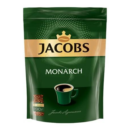 ყავა იაკობს მონარქი 190გრ პაკეტი