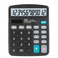 კალკულატორი 12 თანრიგიანი 837,Deli (1255)