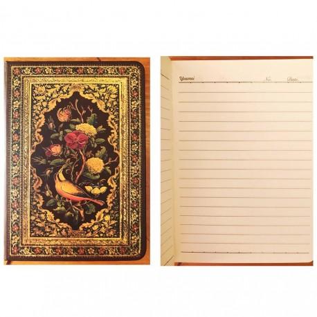 ბლოკნოტი წიგნი 120ფ, ოქროსფერი