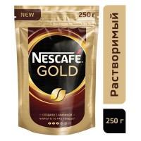 ყავა ნესკაფე გოლდი პაკეტი 250გ