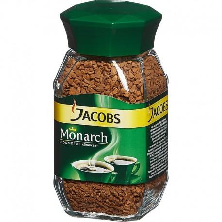 ყავა ხსნადი Jacobs Monarch 190გრ