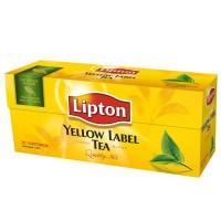 ჩაი Lipton შავი 25ც