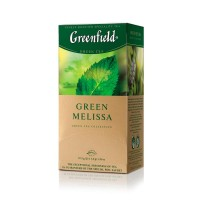 ჩაი მწვანე Greenfield 25ც პიტნა და მელისა