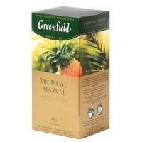 ჩაი მწვანე Greenfield 25ც ტროპიკული ხილი