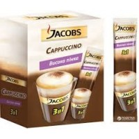ყავა JACOBS  კაპუჩინო  3 in 1 (24 ცალი)