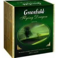 ჩაი გრინფილდი  მწვანე 100ც