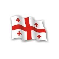 დროშა ნაჭრის 100*150 საქართველო